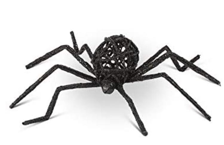 Glittery Spiders