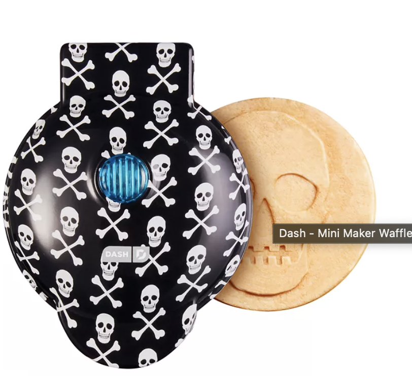 Skull Mini Waffle Maker