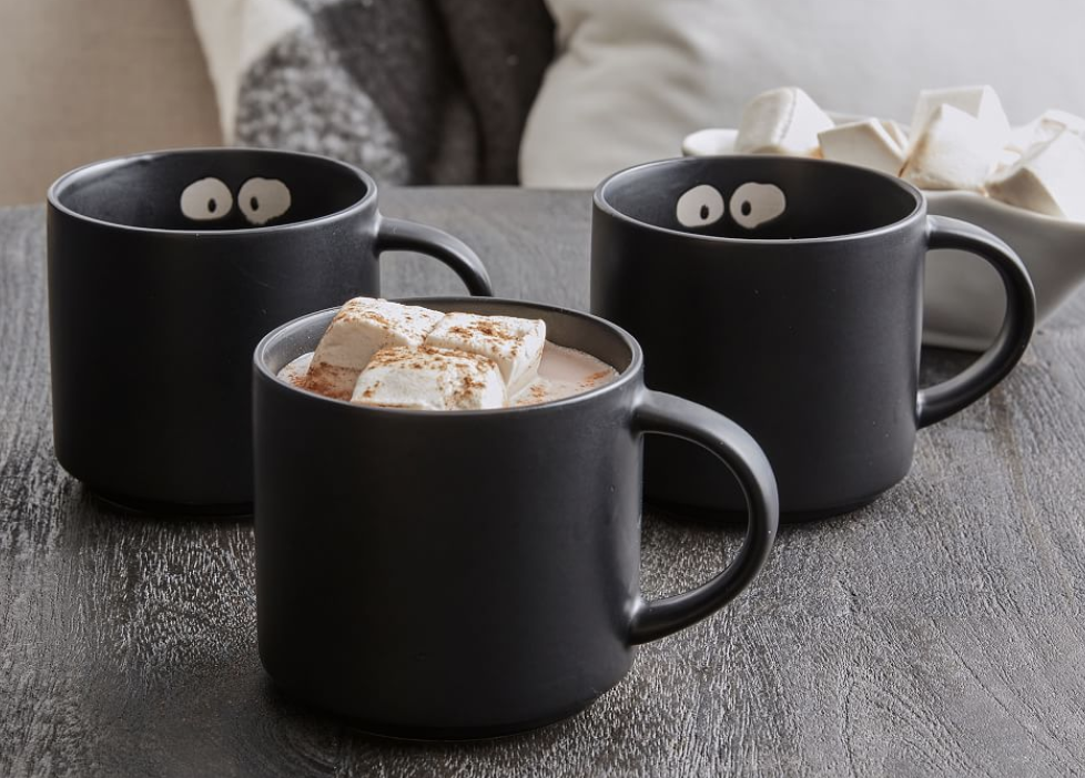 Boo Stoneware Mugs