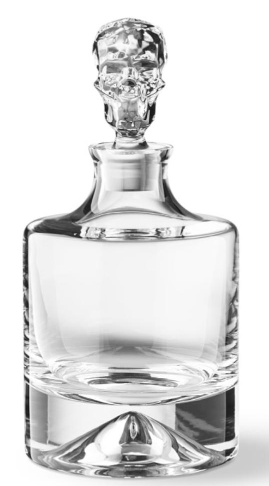 Shade Skull Whiskey Decanter