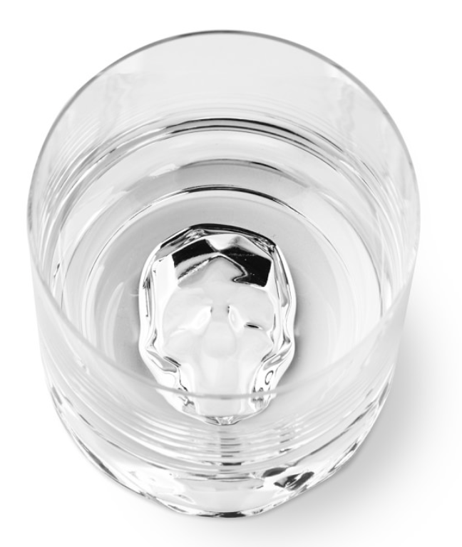 Shade Skull Double Old-Fashioned Glasses, Set of 4