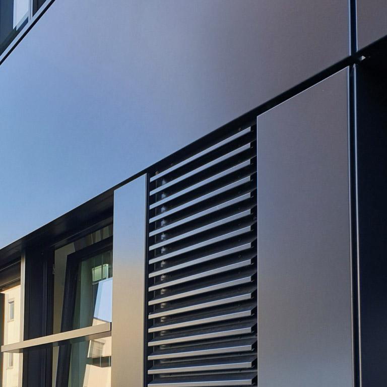 Industriekletterer Hamburg reinigen Fassade