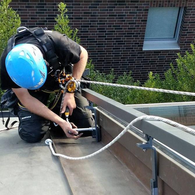 Montage von Dachflächenfenstern