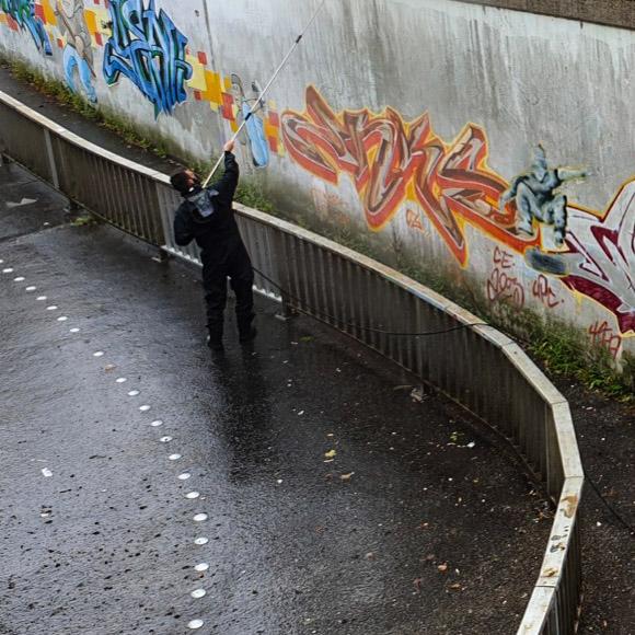 Graffitientfernung Hamburg