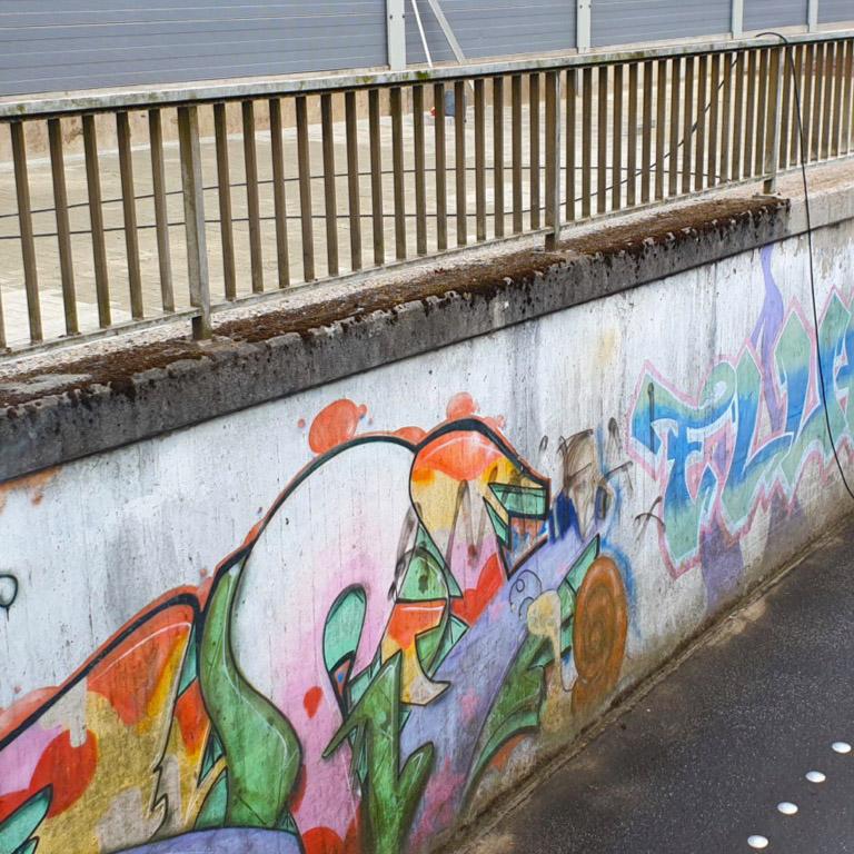 Graffitientfernung durch Allround Handwerker in Hamburg
