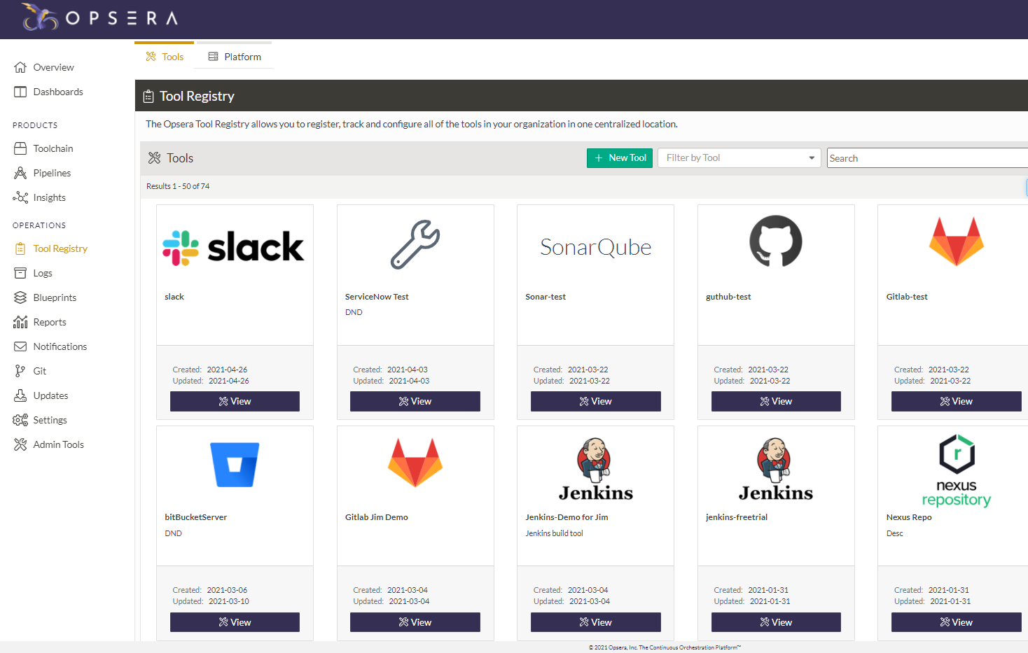 Track and Manage Your DevOps Tools