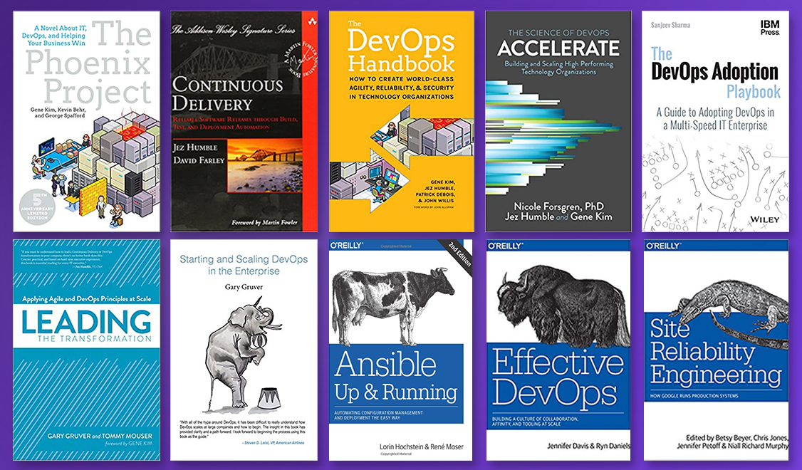 Top 10 DevOps books that you must read