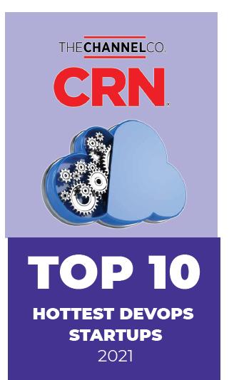 CRN Badge Top 10 DevOps Startups