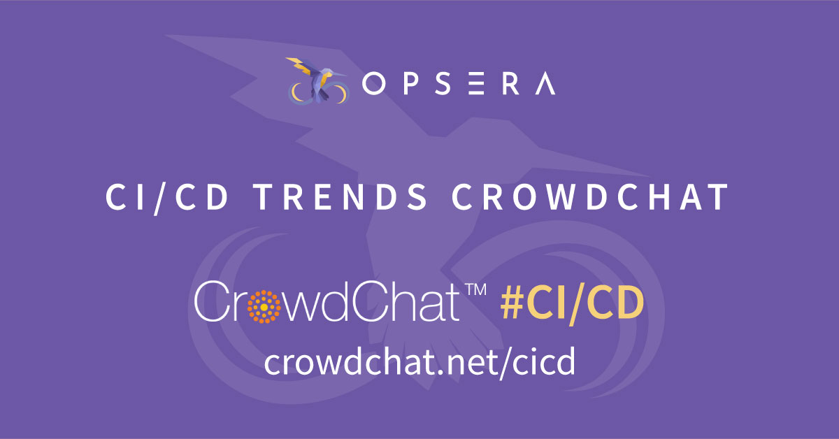 CI/CD Trends CrowdChat