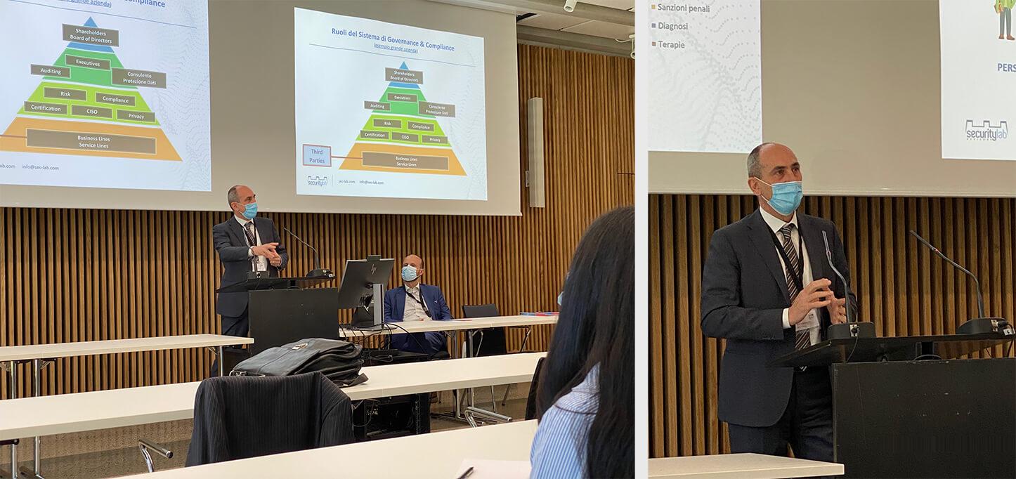 Siro Migliavacca relatore all`evento Smart System Solutions+