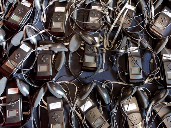old translation devices