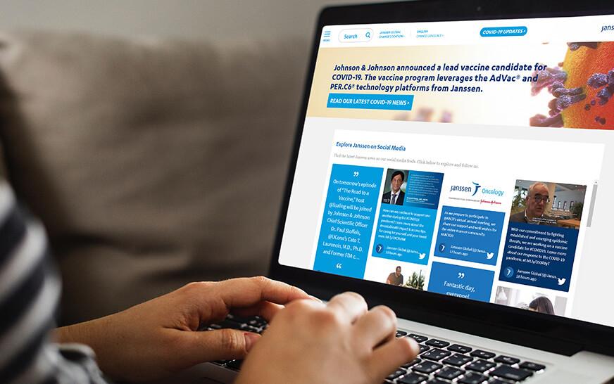 social media for healthcare website social media widget