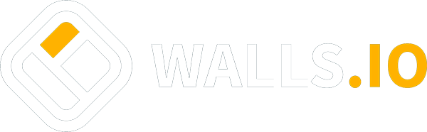 Logo Walls.io with link to homepage
