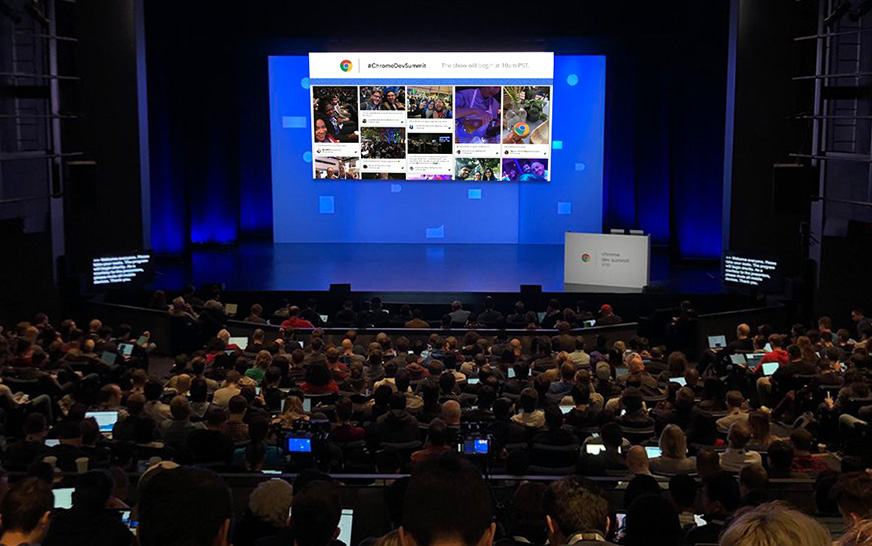 Social Walls for events by Google