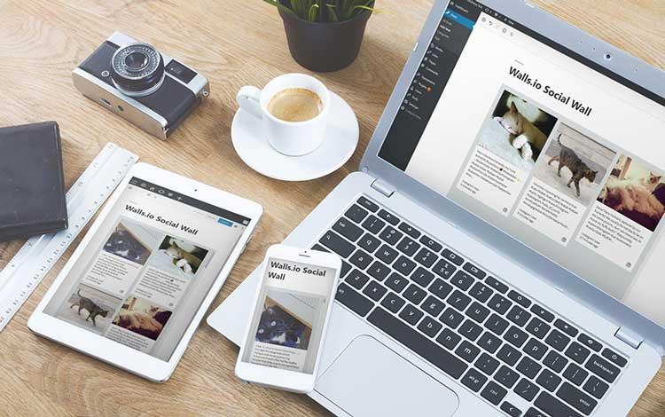 wordpress social media feed plugin, social feed mix example