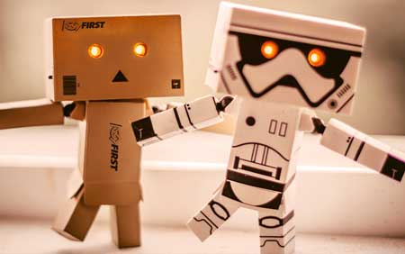 FIRST® and Star Wars joining forces promoting a common event.