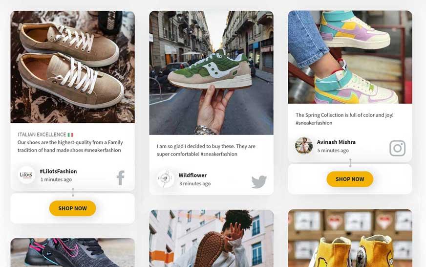 Social media for eCommerce platforms and online shops