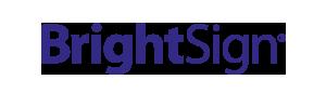 brightsign digital signage solution social media integration