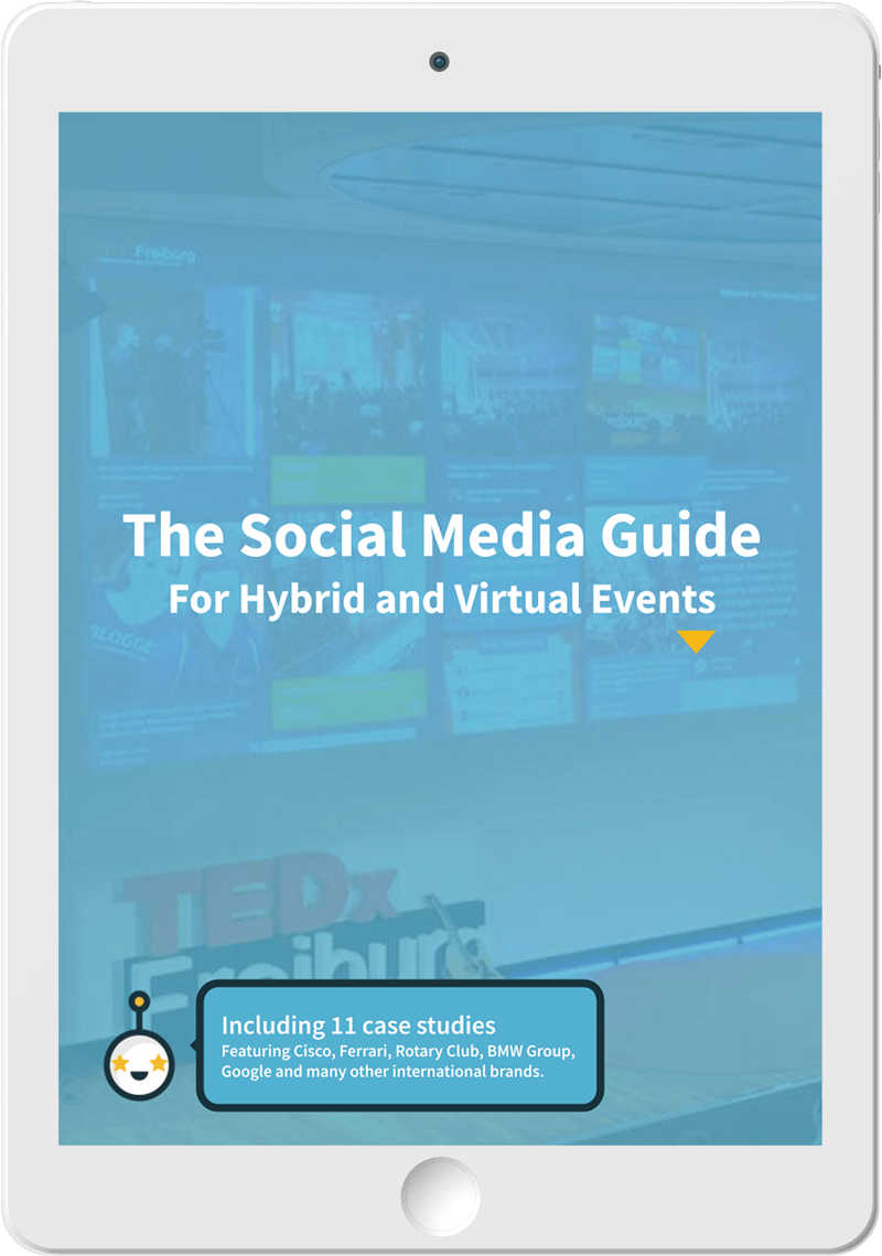 The Social Media Guide cover on a Tablet