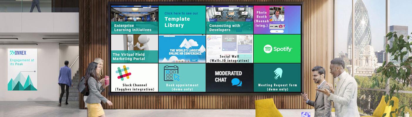 6Connex virtual event environment