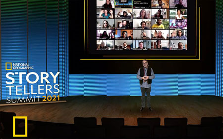 Walls.io x Pathable at the National Geographic Storytellers Summit