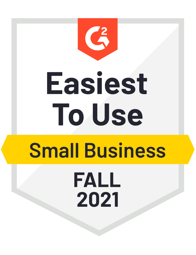 Badge G2 Easiest To Use Fall 2021