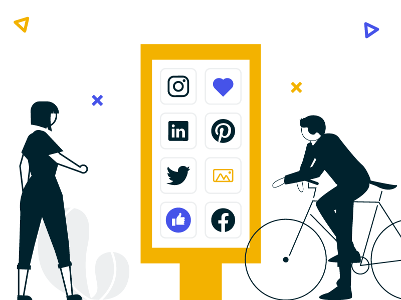 digital signage solutions for social media walls
