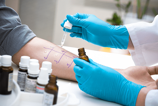 Simple allergy testing can determine a lot about your unique profile