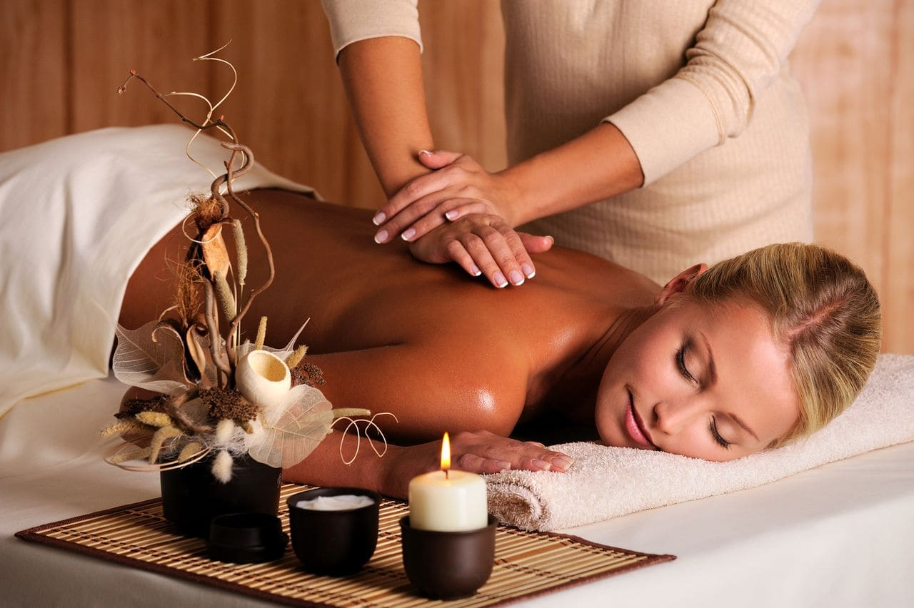 women on massage table Massage Therapy in The Woodlands