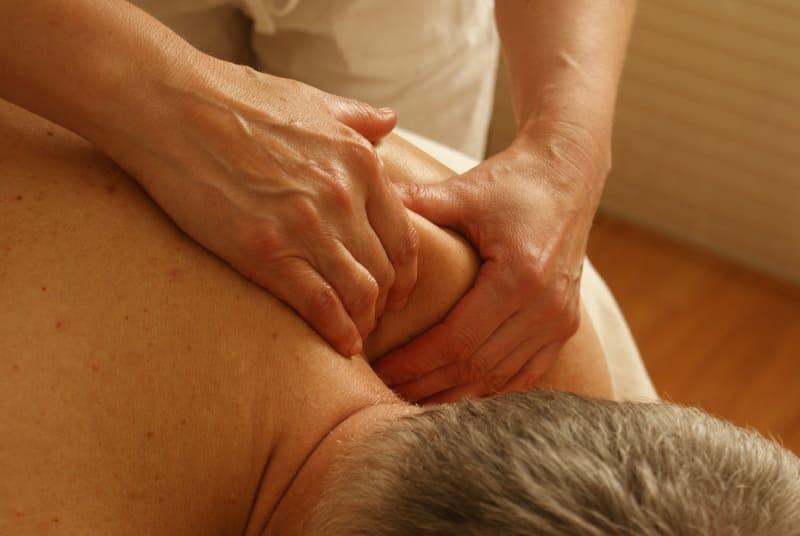 Shoulder Massage Massage Therapist in The Woodlands