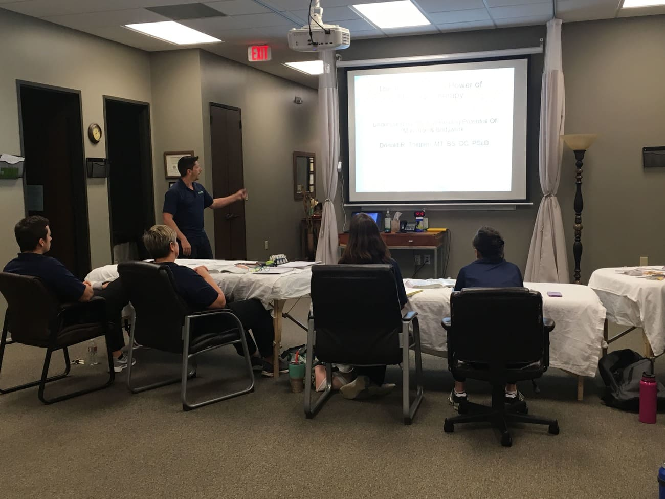 Lecture for personals Massage Therapist in The Woodlands