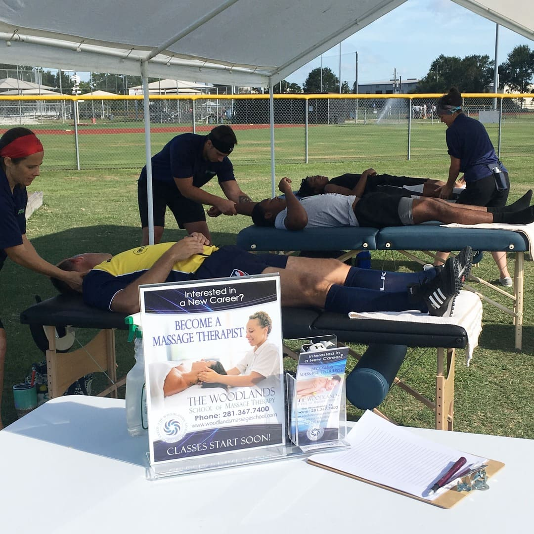 Massage for Athletes Massage Therapy School in The Woodlands