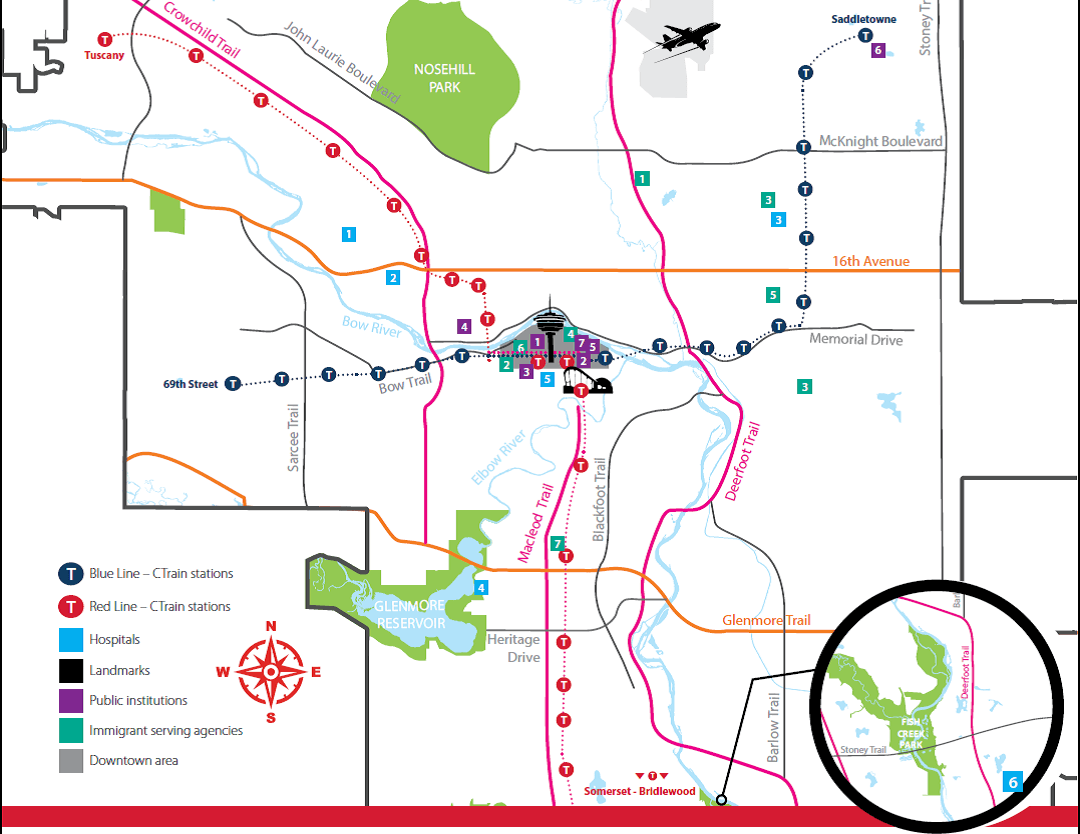 abm college city of calgary map