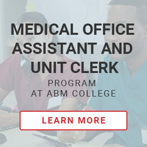 Medical Office Assistant and Unit Clerk CTA.