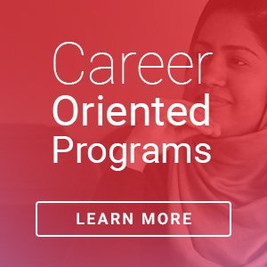 Career Oriented Programs