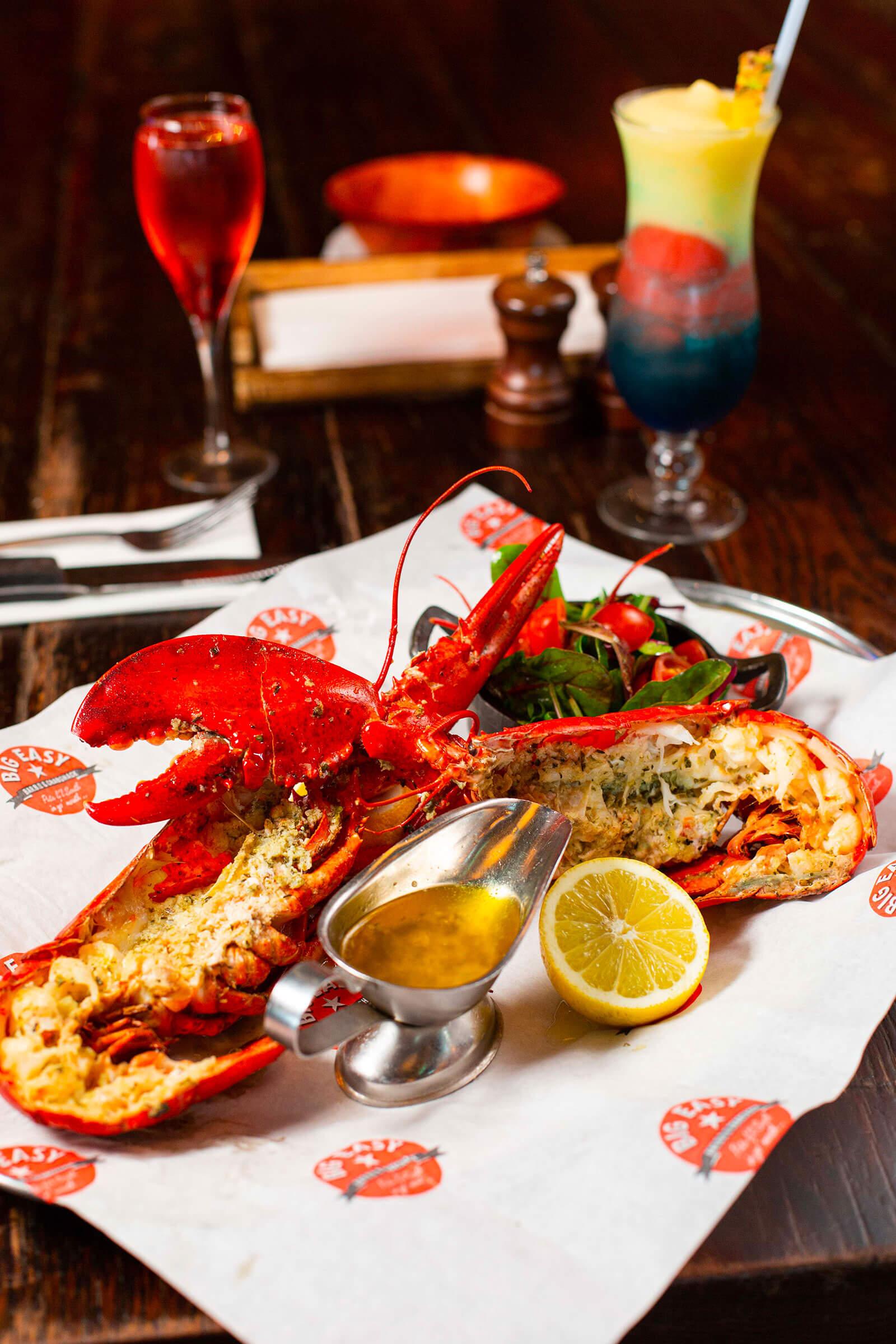 big easy lobster
