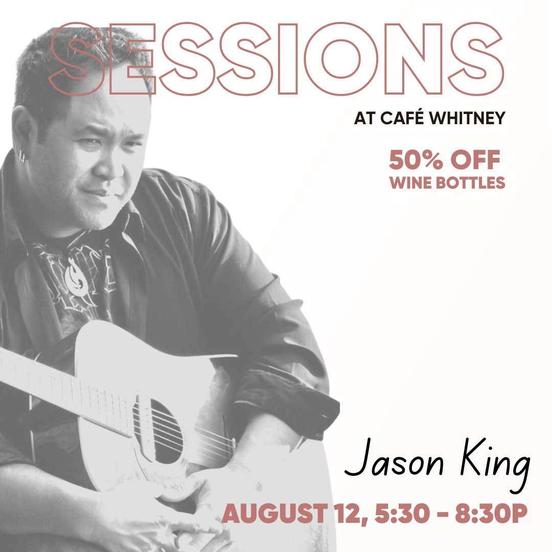 SESSIONS WITH JASON KING