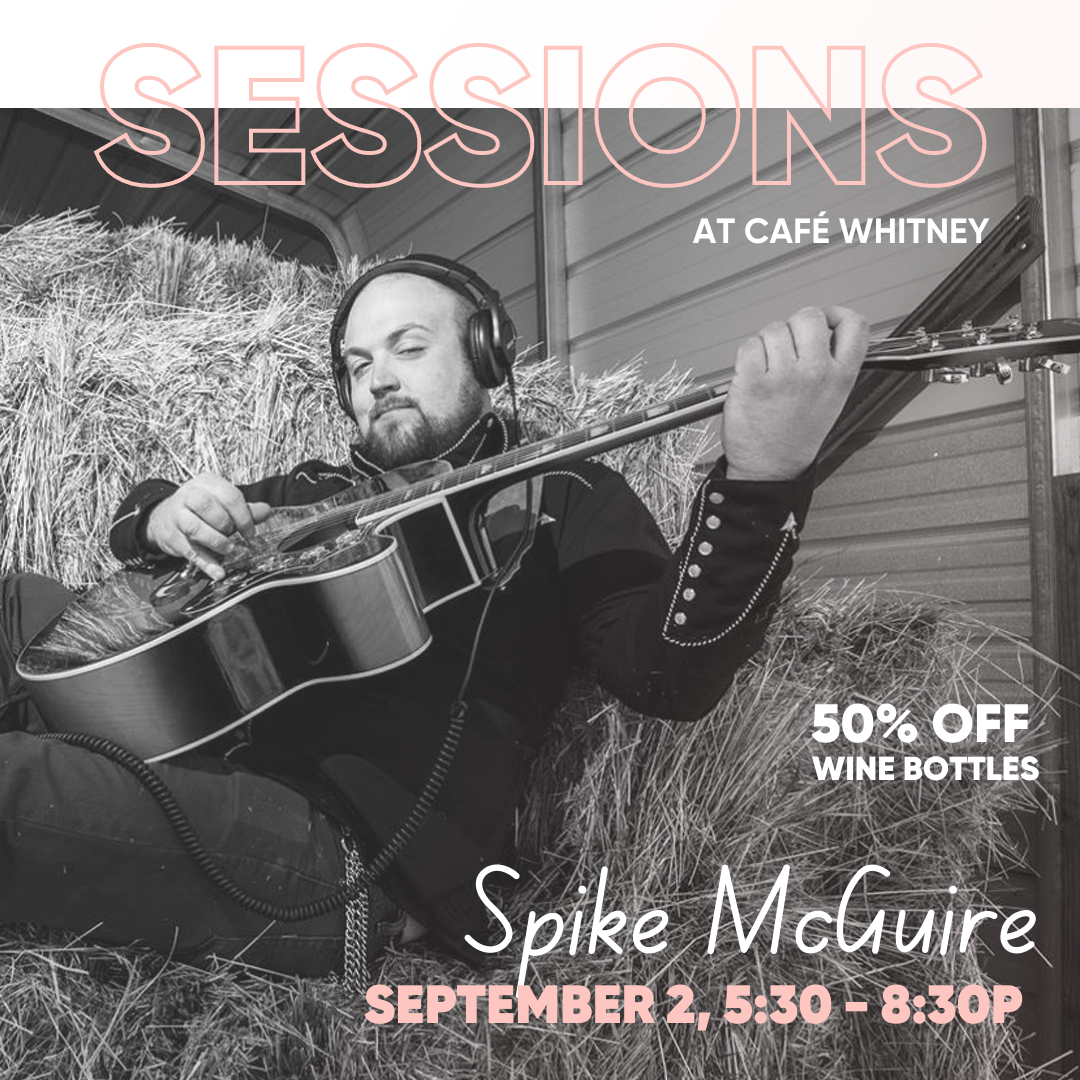 SESSIONS WITH SPIKE MCGUIRE