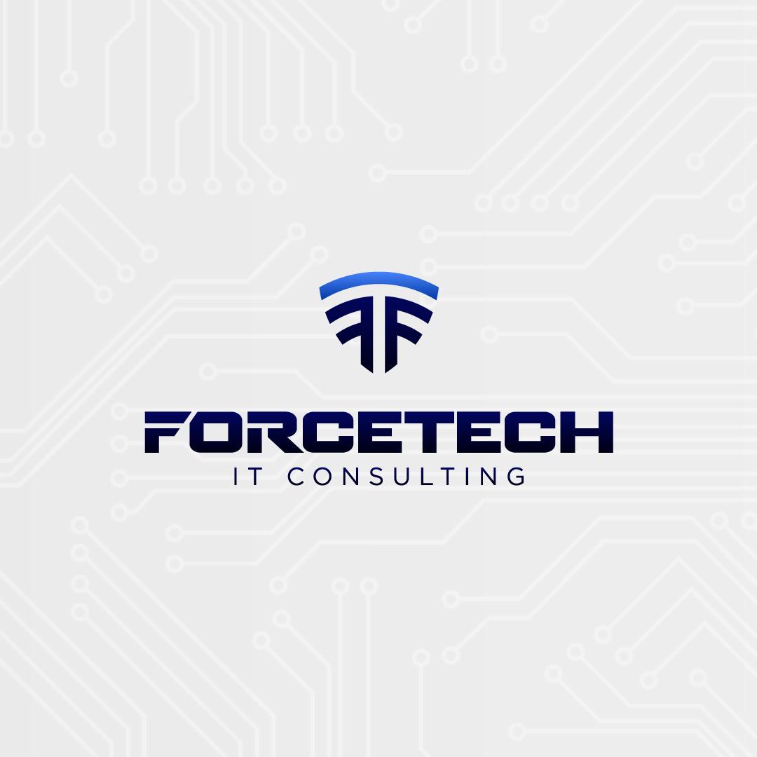 ForceTech IT logo designed by Gialli Marketing