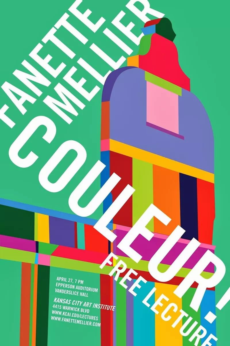 Women designer Mellier poster