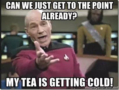 Captain Piccard Meme
