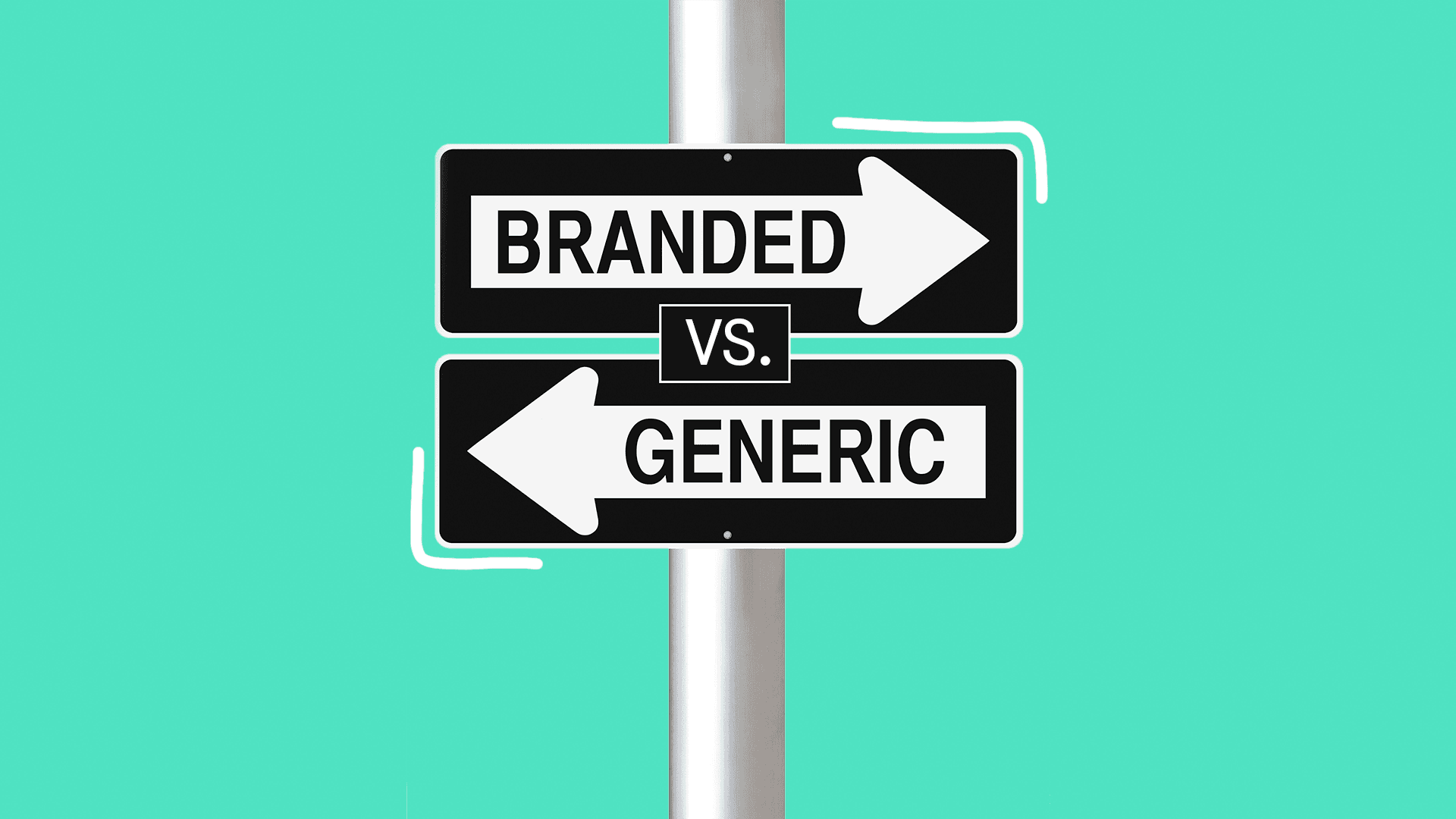 If you've been grocery shopping, then you'll understand the dilemma when choosing between generic brands and brand-name products.