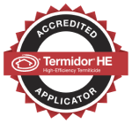 Accredited Termidor HE Applicator Logo