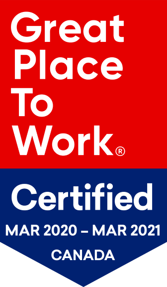 Great Place To Work Certified award