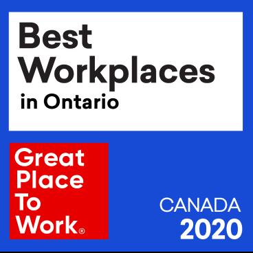 Best Workplaces in Ontario award