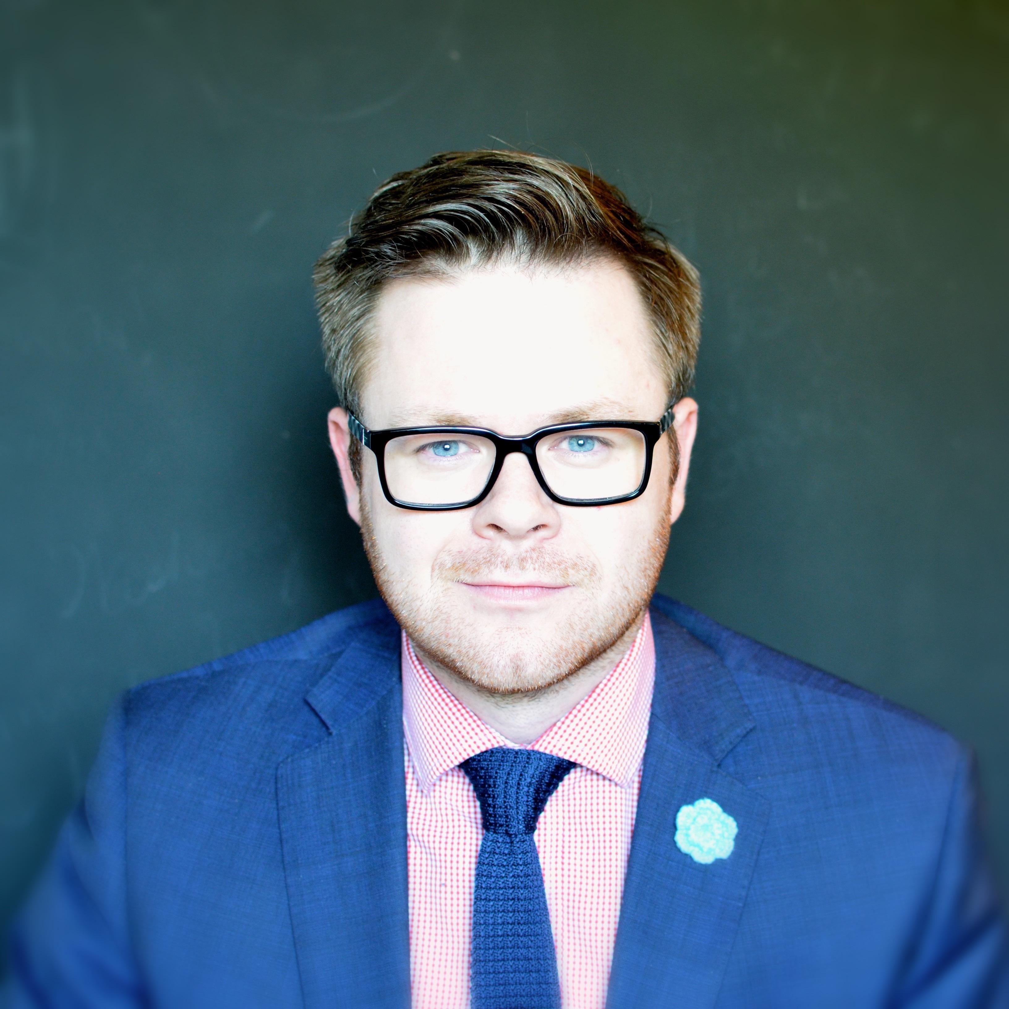Headshot of Tyler Calder