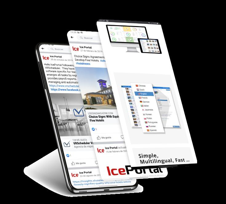 IcePortal - Sharing Social Media