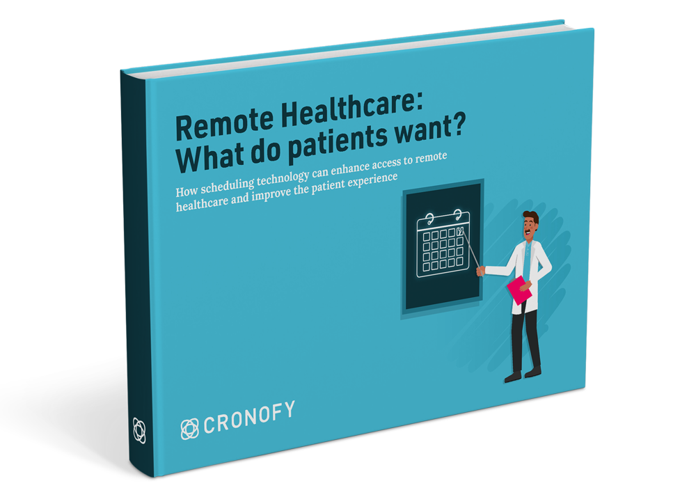 Ebook Cover of the Telehealth Report