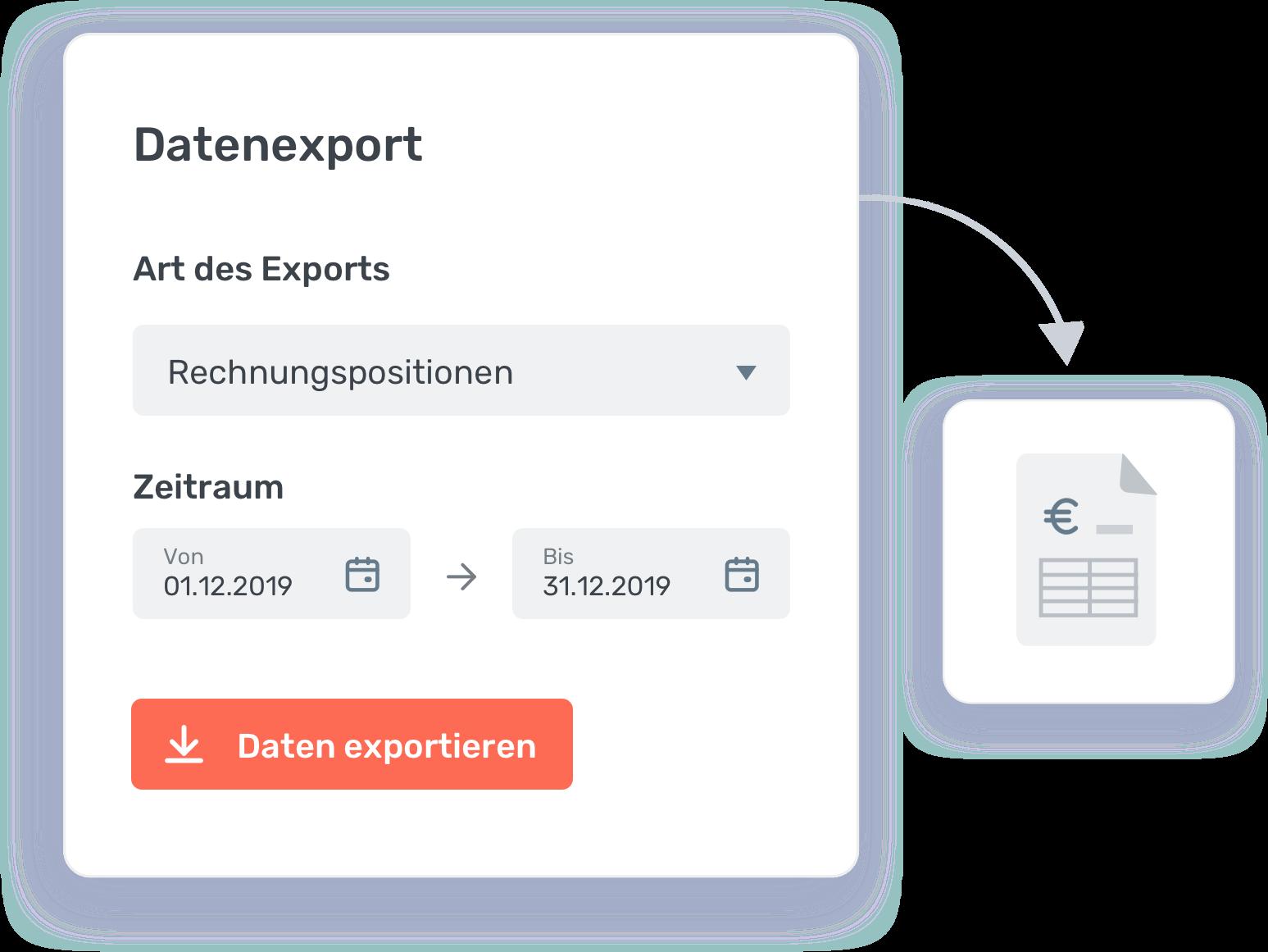 Datenexport