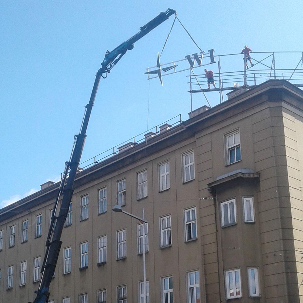 Dachanlage - Hinter den Kulissen